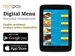 New POS System App, MiniPOS Digital Cash Register System. Good for Restaurant/Fast food!