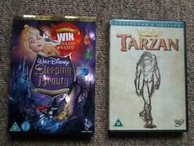 Disney 2 disc DVDS