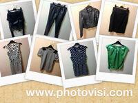 Womens size 8 various clothes bundle - 8 items (dresses, coat, tops, trousers)