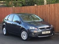 2009 FORD FOCUS 2.0 TITANIUM 5DR+FULL DEALER SERVICE HISTORY++90K++LOOKS AND DRIVES GREAT++BARGAIN++