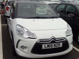 CITROEN DS3 1.2 PureTech DStyle Plus (white) 2015