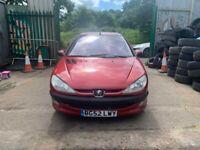 BREAKING Peugeot 206 GLX 1.6 Red Hatchback Door glass window front rear offside nearside