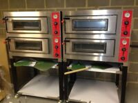 Pizza Oven Doble deck, Electric Single Phase or Three Phase