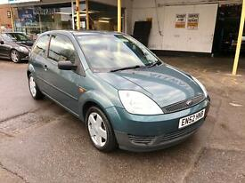 2002 52 Ford Fiesta 1.3i Finesse, Sunroof, Alloy wheels, service history, MOT March 2017