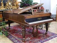 Victorian boudoir semi grand piano - DELIVERY AVAILABLE