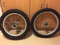 Crf 250 2011 wheels crf cr mx