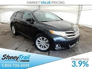 2013 Toyota Venza PANO. GLASS ROOF! BACKUP CAMERA! LEATHER! HEAT