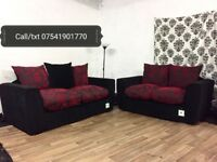 New chenille 3+2 seater sofas**Free delivery**