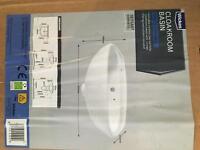 Cloakroom/ utility room basin sink