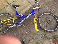 2 men's bikes