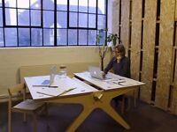 Shirt Term & Flexible Artist Studio / Work Space / Desk Space Project Room £17 pd