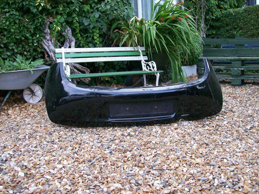 Ford Ka Rear Bumper Assembly Black Paint Code D Fits Years
