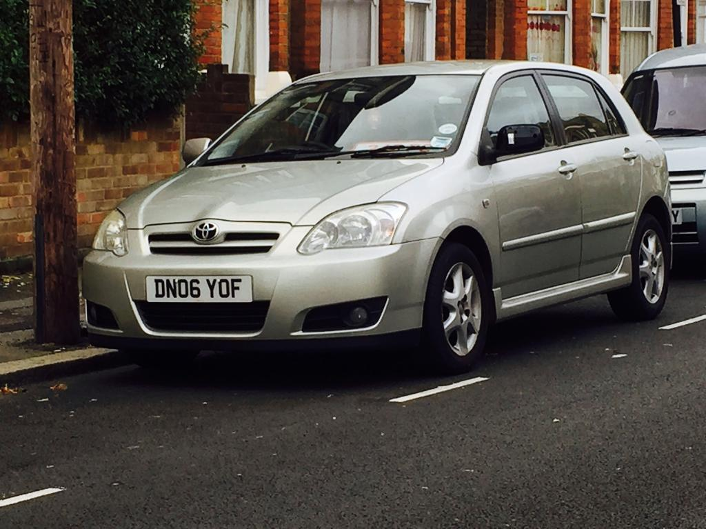 2006 TOYOTA COROLLA 1.6 Vvti*COLOUR COLLECTION*5 DOOR*7 SERVICE STAMPS*12 MONTHS MOT*3 MTH WARRANTY*