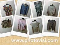 Womens size 10 clothes bundle - 8 items - shorts, tops, skirt, etc