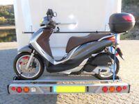 AL-KO SAWIKO Ligero II 150Kg Scooter/Bike Carrier for Motorhome VGC (motorbike)