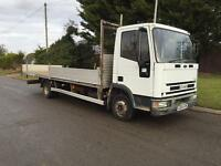 2004-04 reg Iveco eurocargo 75E17 model 20ft long alloy body low miles