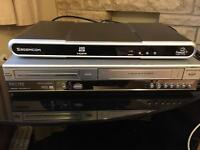 DVD and video recorder and free sat box