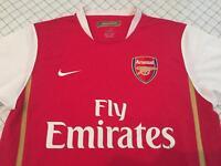 Arsenal Home Shirt 2006-2008 Mens Size M