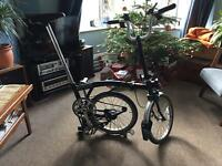 Brompton m6l with bag (needs new chainset)