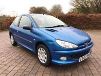 2005 Peugeot 206 1.1 Zest 3 3dr FULL SERVICE HISTORY, AIR CON, ONE OWNER!