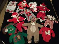 Baby Christmas sets clothes outfits 0-3 months
