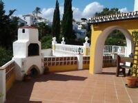Amazing 2 Bed VILLA APARTMENT with PRIVATE POOL near Beach between Fuengirola/Marbella COSTA DEL SOL