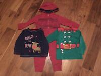 Boys Christmas clothes bundle 18-24 months