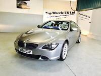 BMW 630I SPORT 6 SERIES, 56 PLATE, 12 MONTHS MOT & FULL SERVICE HISTORY, AMAZING CAR.