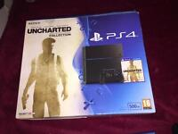 PS4 with 6 games in mint condition