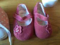 Pram shoes and slippers