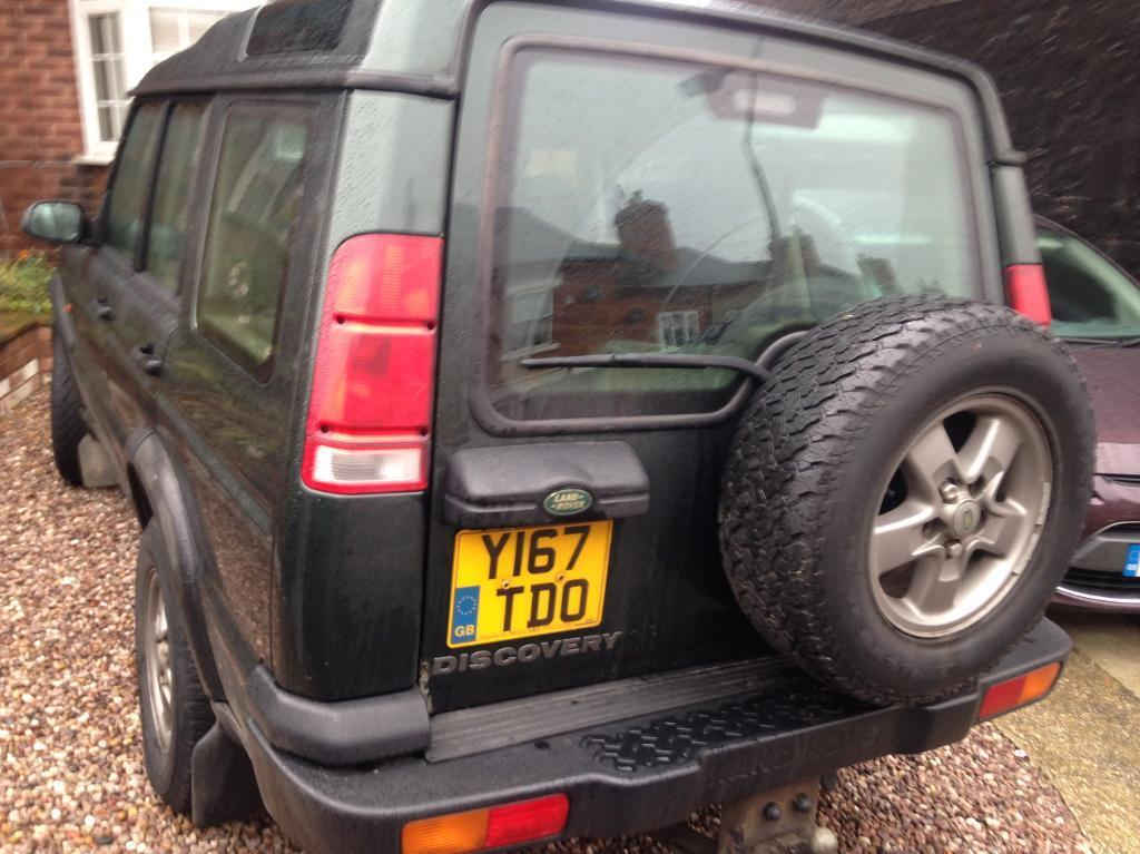 2001 Land Rover discovery td5 7 seater adventurer a . Rare