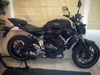2015 Yamaha mt07, just serviced, custom chrome pipes. Cheapest for sale