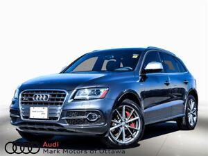 2016 Audi SQ5 3.0T Technik *Certified*