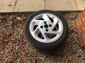 Escort RS turbo alloy wheels x2