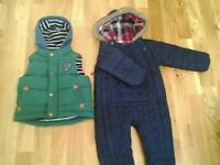 Junior J Bodywarmer & M&S Snowsuit (£10 for both)