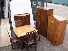 mixed furniture