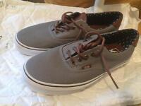Men's Vans canvas shoes