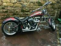 Harley Davidson custom chopper (Jim Bob)