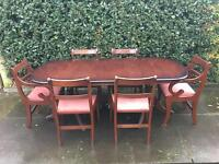 Dining Table & Chairs ( Can Deliver )