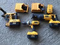DeWalt 36 volt power tools