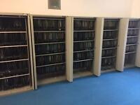 Office hanging filing cabinets with shelves and hangers