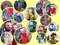 Value Mascot Costume Hire & appearances/ Visits Glasgow areas