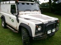 land rover defender 110 hard top mot failure 300 tdi spares or repair