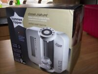 BRAND NEW IN BOX TOMMEE TIPPEE WHITE PERFECT PREP MACHINE