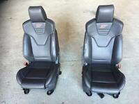 Ford st recaro focus seats interior mint condition mk3