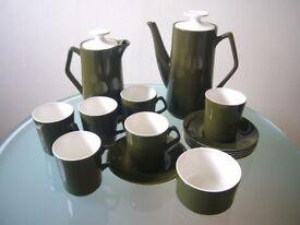 Vintage_Retro Beswick 60s_70s Coffee set