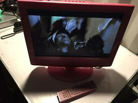 """Neon 19"""" LCD tv for sale come with remote its got freeweiw and pmpj in DVD player work perfect"""