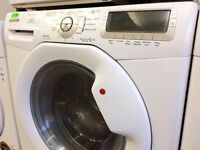 HOOVER - White , 9+6kg , 1600 , Silent Pulse WASHER DRYER + 3 Months Guarantee + FREE LOCAL DELIVERY