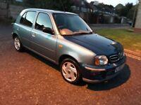 2002 Nissan Micra 1.0 16v S CVT 5dr Auto @07445775115