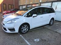 Citroen c4 grand Picasso 2012, 49k mileage Pco registered uber accepted car for sale